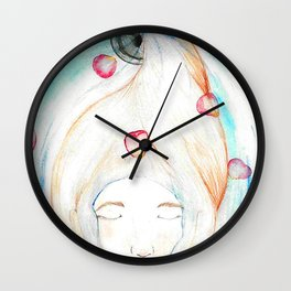 Let Your Worries Down the Drain Wall Clock