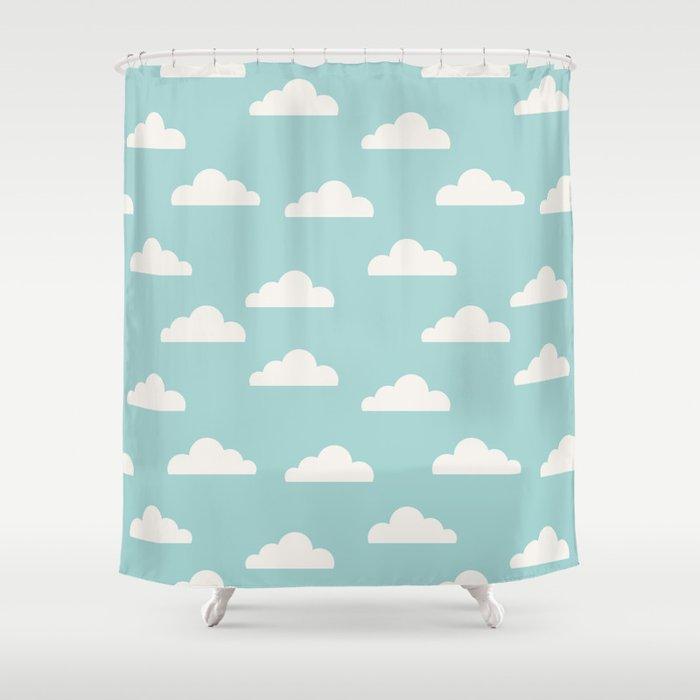 Clouds Shower Curtain By Cutecutecute