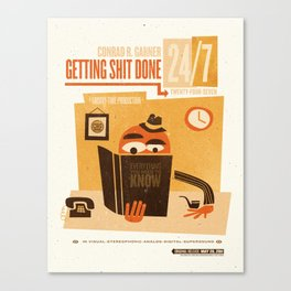 Getting S*** Done Canvas Print