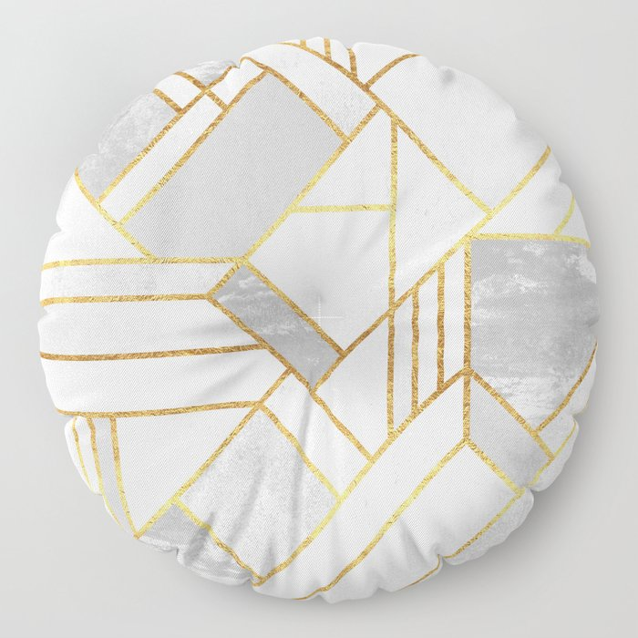 Gold City Floor Pillow