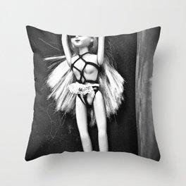 Bondage Barbie Throw Pillow