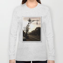Streetview in Barcelona Long Sleeve T-shirt