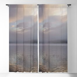 Phantasmagorical Fog on the Lake Blackout Curtain