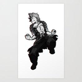 Red Riot Design Art Print