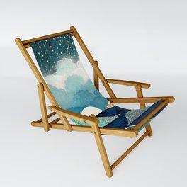Ocean Clouds Sling Chair
