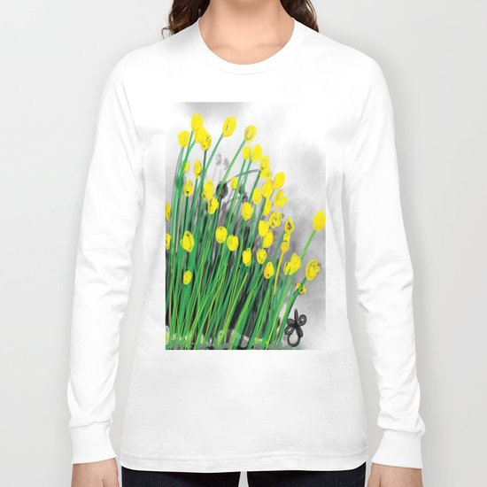Yellow Flowers! Long Sleeve T-shirt
