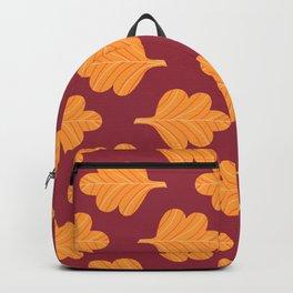 Modern Fall Floral Pattern VIII Backpack