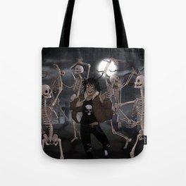 Spooky Scary Skeletons Tote Bag