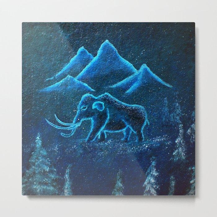 A Mammoth Journey Metal Print