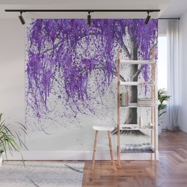 Violet Vale Wall Mural
