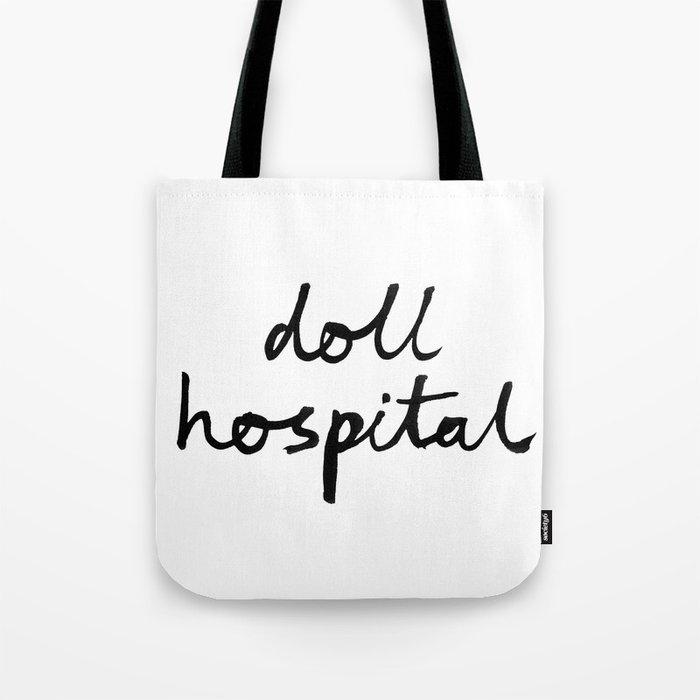 Doll Hospital logo Tote Bag