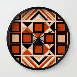 Hallstatt Kelt Pattern Wall Clock