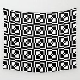 square and tartan 11 Wall Tapestry
