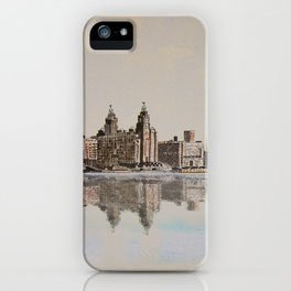 Liverpool Waterfront iPhone Case