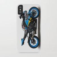 honda iPhone & iPod Cases featuring Honda CBR fireblade. by cjsphotos