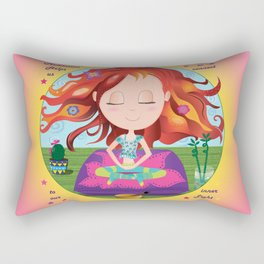 Meditation Om Zen Rectangular Pillow