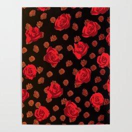 dark roses Poster