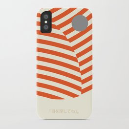 Love and Collision iPhone Case