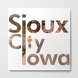 Sioux City Metal Print
