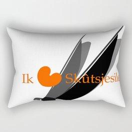 Ik hou van Skûtsjesilen Rectangular Pillow