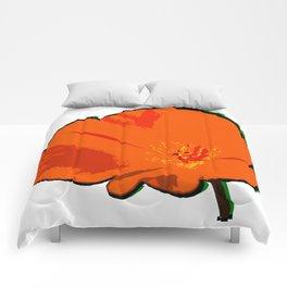 DBM California Poppy 3 Comforters