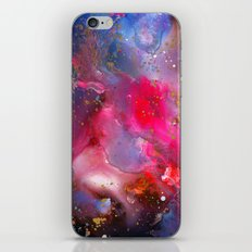 Rose Crystal Galaxy iPhone Skin
