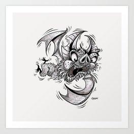 Bat (Failing at Life) Art Print