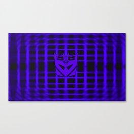 Decepticon Insignia Canvas Print
