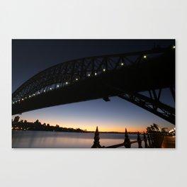 Sunrise. Canvas Print