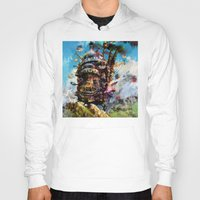 chihiro Hoodies featuring howl's moving castle by ururuty