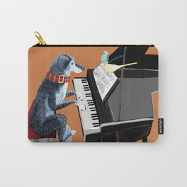Piano lesson with Angel Carry-All Pouch