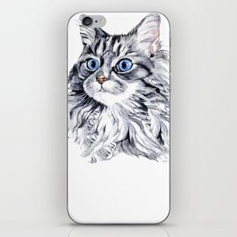 Maine Coon T Shirt - Maine Coon Cat Gift iPhone Skin