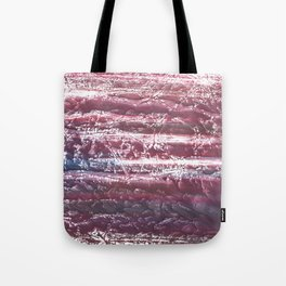 Red violet marble abstract watercolor Tote Bag