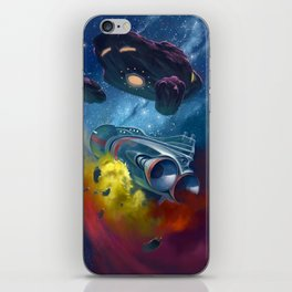 Disaster in Deep Space iPhone Skin