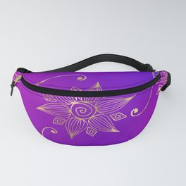 Colorful Bollywood India Fanny Pack