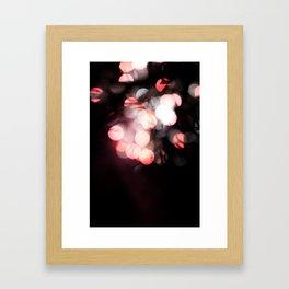 Balls of light Framed Art Print
