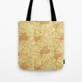 Vintage Goldfishes II Tote Bag