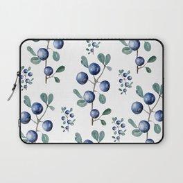 Blackthorn Blue Berries Laptop Sleeve