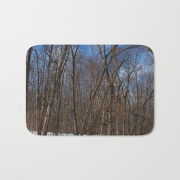 Frozen Freedom- vertical Bath Mat