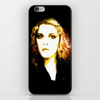 stevie nicks iPhone & iPod Skins featuring Stevie Nicks - Dreams - Pop Art by William Cuccio aka WCSmack