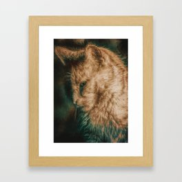 In The Evening Framed Art Print