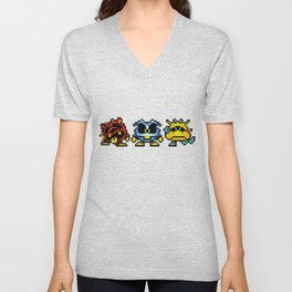 Dr. Mario Viruses Unisex V-Neck