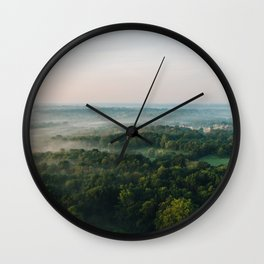 Kentucky from the Air Wall Clock
