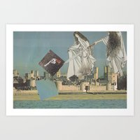 Portal sages uncover Rylands lost chrome. Art Print