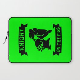 Stag Knight on the Piss Laptop Sleeve