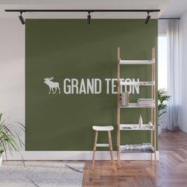 Grand Teton Moose Wall Mural