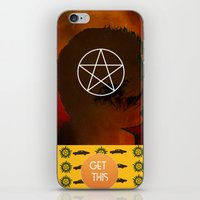 dean winchester iPhone & iPod Skins featuring dean winchester by Papa-Paparazzi
