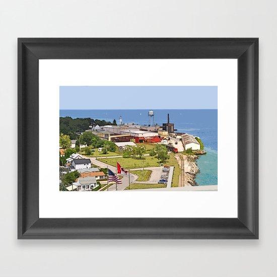 Port Huron Framed Art Print