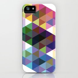 Fig. 034 Colorful Diamonds iPhone Case