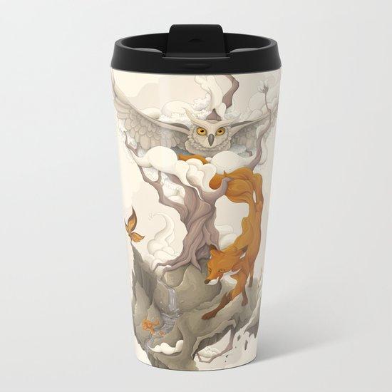 Wild Animals Metal Travel Mug